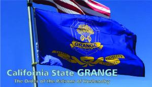 California Grange flag