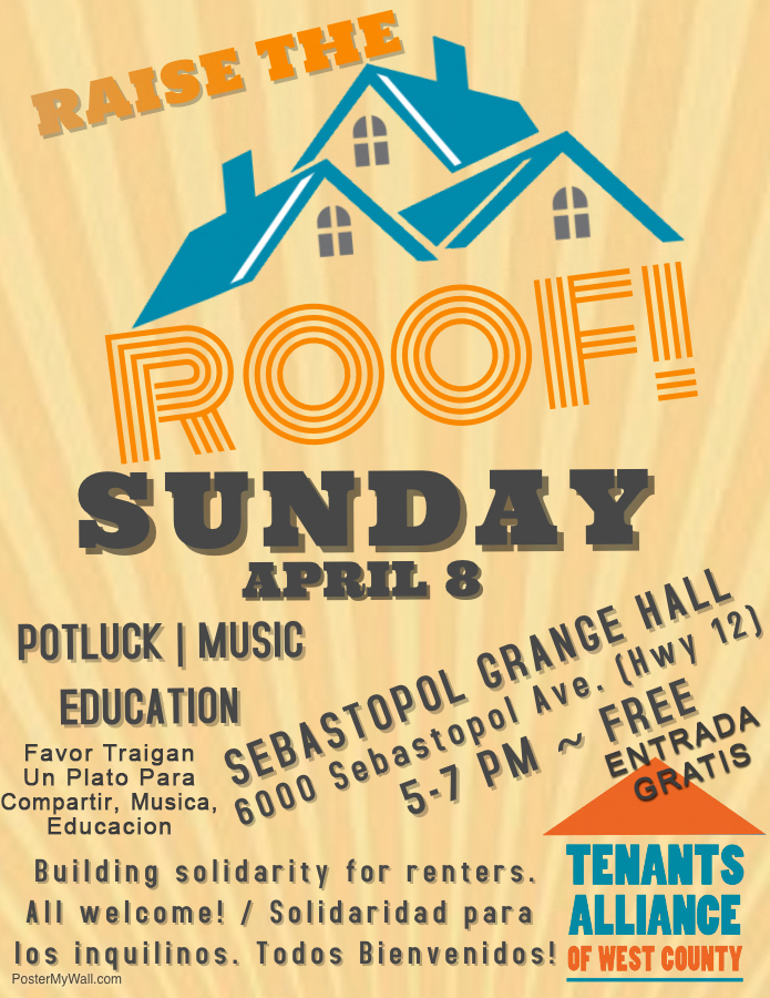 Tenants rights event