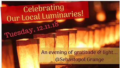 Celebrating Our Luminaries