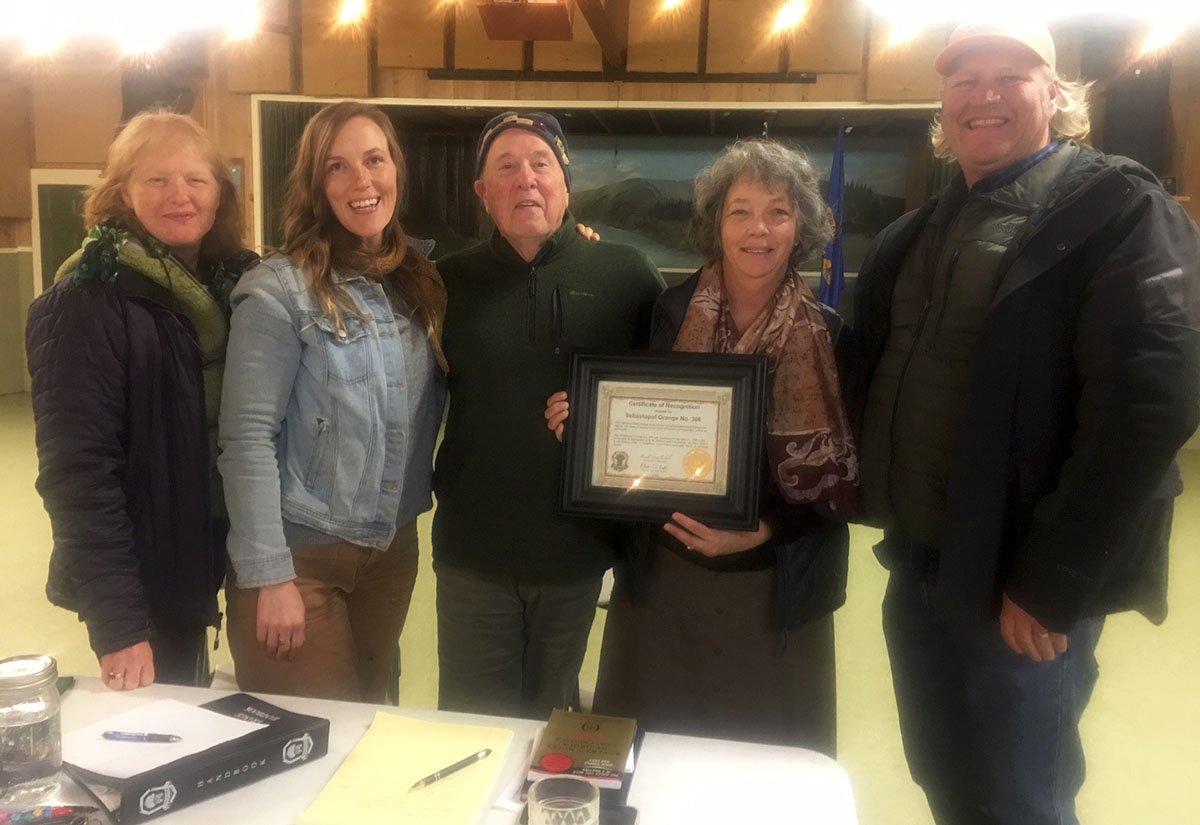 Grange wins award