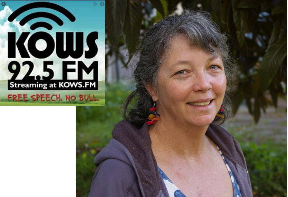 Laura Shafer talks about the Grange on the radio
