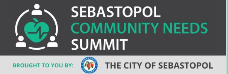 Sebastopol Community Needs Summit